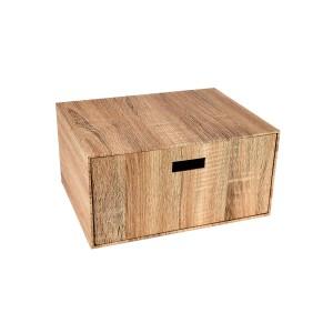 Zen Single Drawer Box - Natural Wood